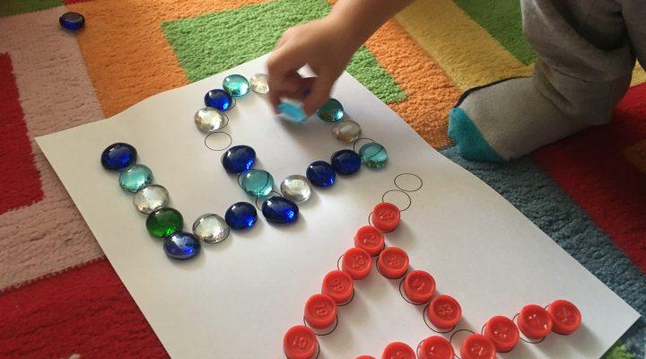 Шаблоны «Буквы из кругов»