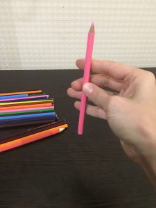 Массаж карандашами догонялочка