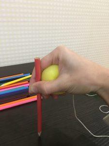 Массаж карандашами скольжение