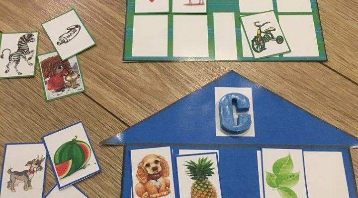 Игра и карточки для дифференциации твердых и мягких согласных