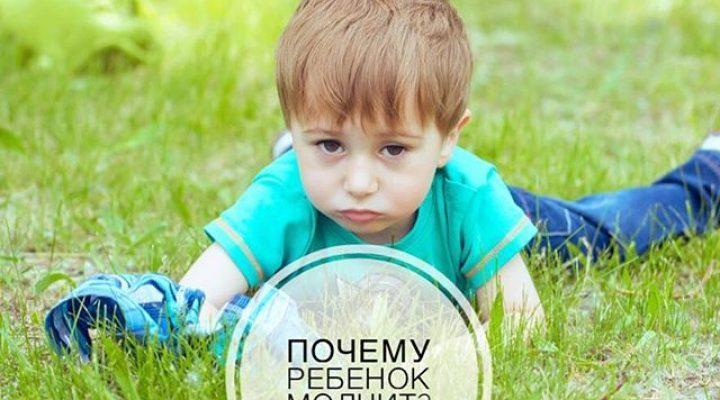 Почему ребёнок молчит?